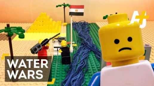 Water Wars: A Lego Animated Short